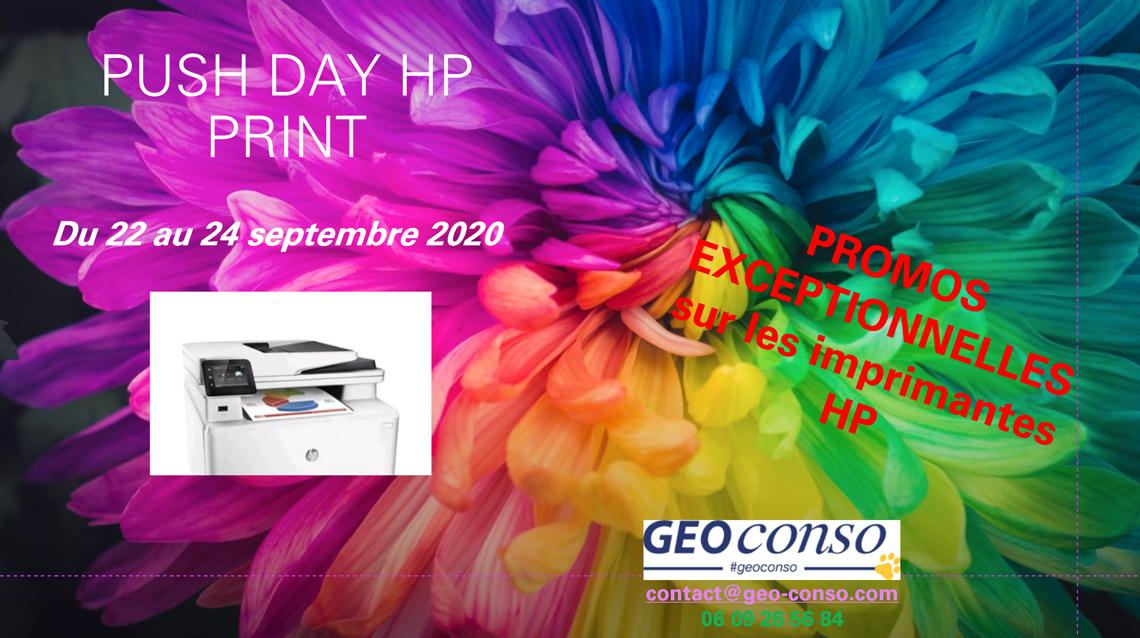 Promos sur les imprimantes HP