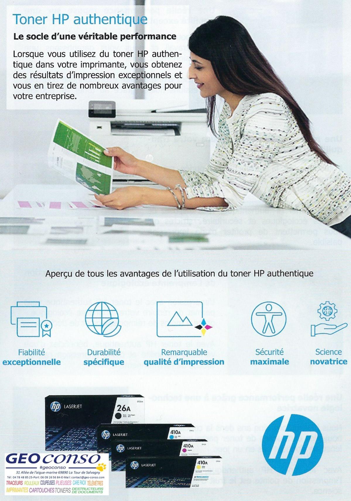HP Toner Authentique